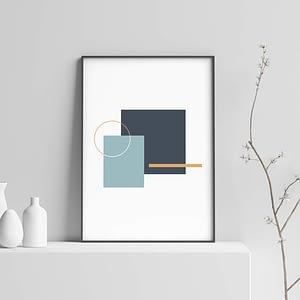 Minimalistische Geometrische Poster