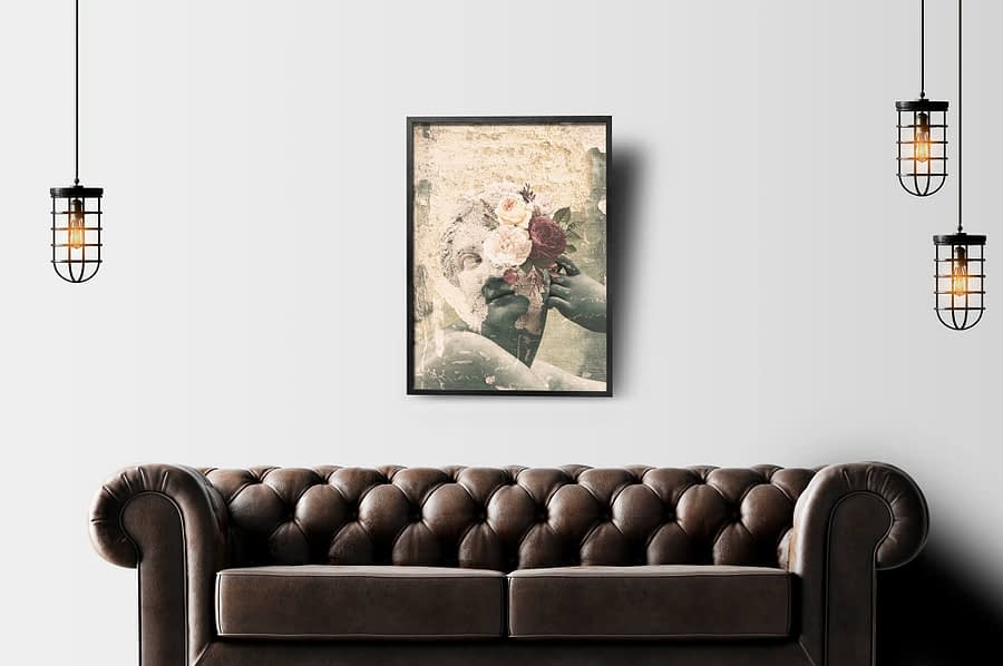 Surrealistische Poster en Canvas Print met vintage en industriele look
