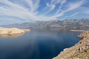 Pag Kroatië landschap
