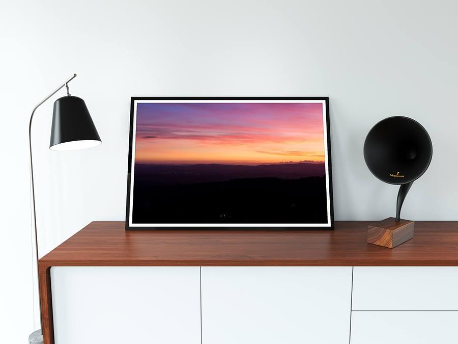 Zonsondergang Poster - Landschapsfotografie