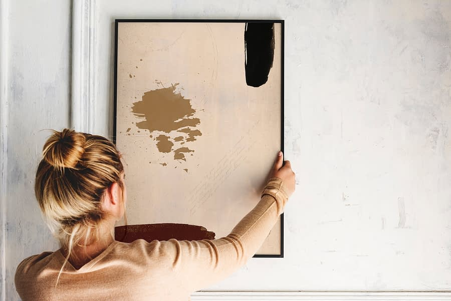 abstracte poster - moderne wanddecoratie