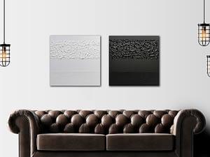 Tweeluik Black & White - Minimalistische Kunstwerken
