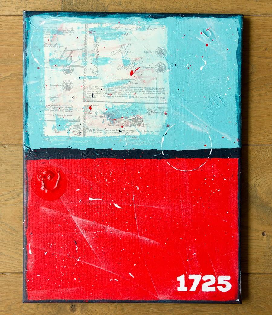 Abstract Schilderij - Moderne Kunst