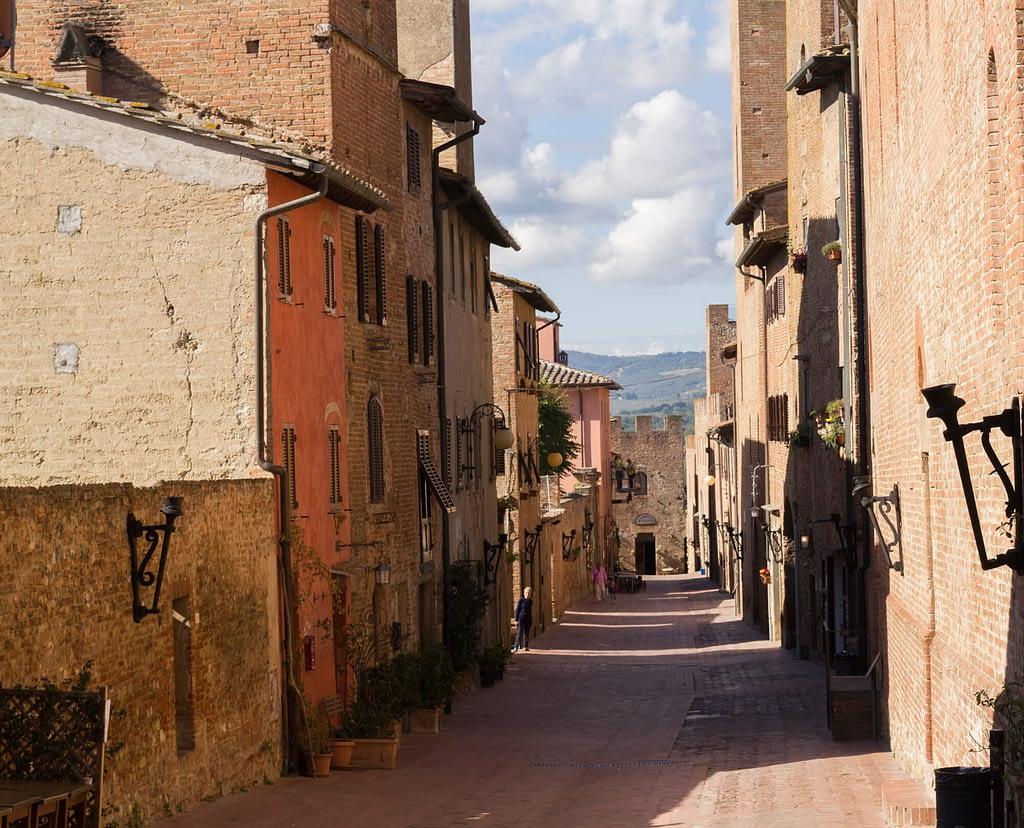 Authentiek Toscaans dorpje certaldo