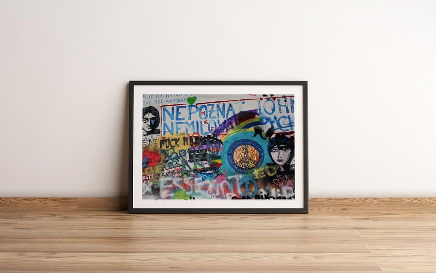Life Is Short, War Is Long John Lennon Muur Print