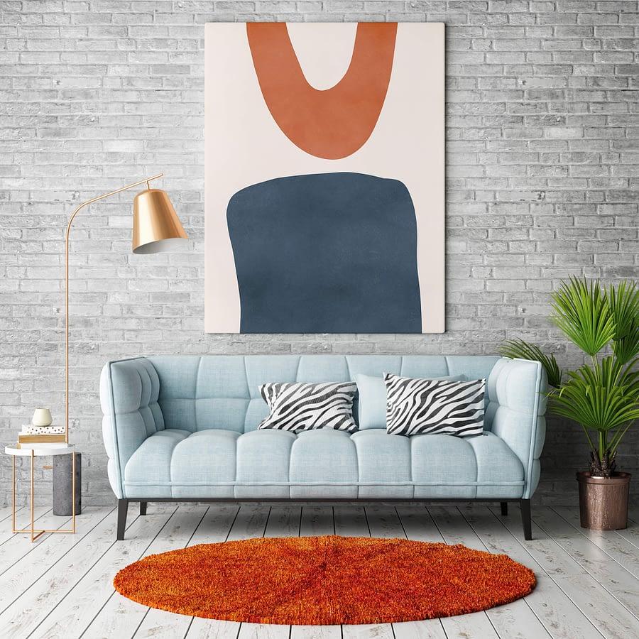 Shapes - abstracte poster en print