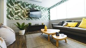 woonkamer met tv