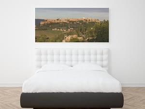 Panaroma Print van Italiaanse stad Orvieto
