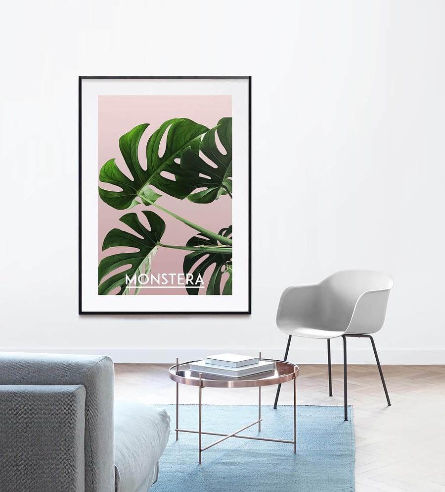 Gatenplant - Botanische Poster en Print