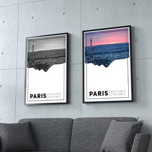Parijs Poster