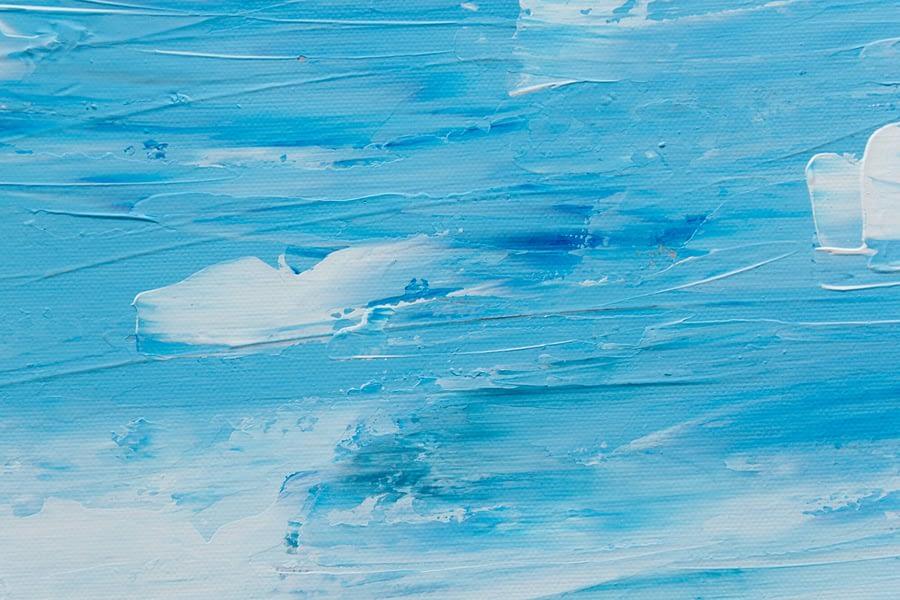 hollandse lucht - abstract kunstwerk