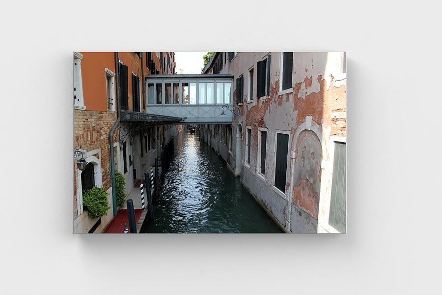 Venetiaans Bruggetje - Reizen Wanddecoratie