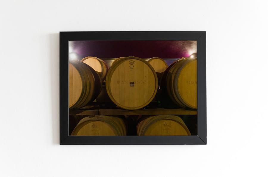 Wijnvaten poster