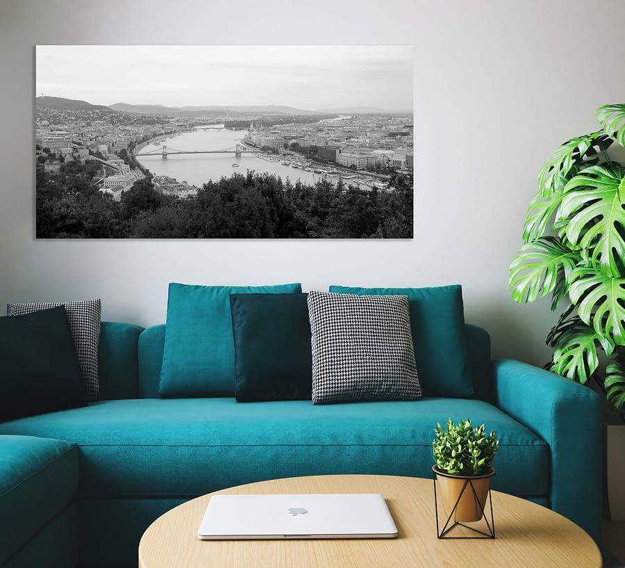 Boedapest Panorama Foto - Steden Wanddecoratie