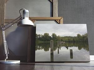 Reflecties in het Water Poster en Print