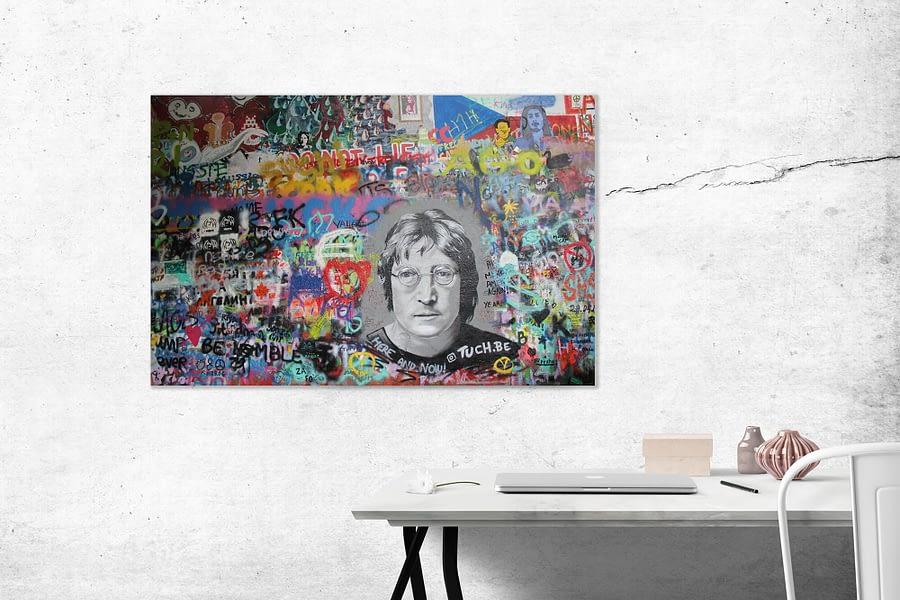 John Lennon Muur Poster en Print - Street Art Wanddecoratie