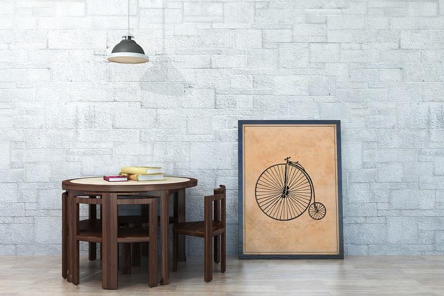 Vintage Fiets Poster - Industriële Wanddecoratie Kopen - MDRN HOME