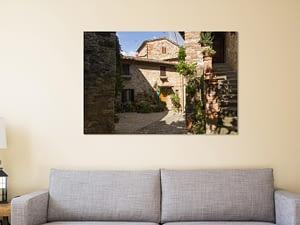 Toscaans Dorpje Poster