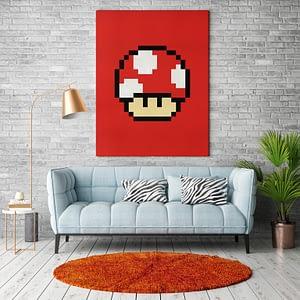 Mushroom uit Nintendo Mario computerspellen