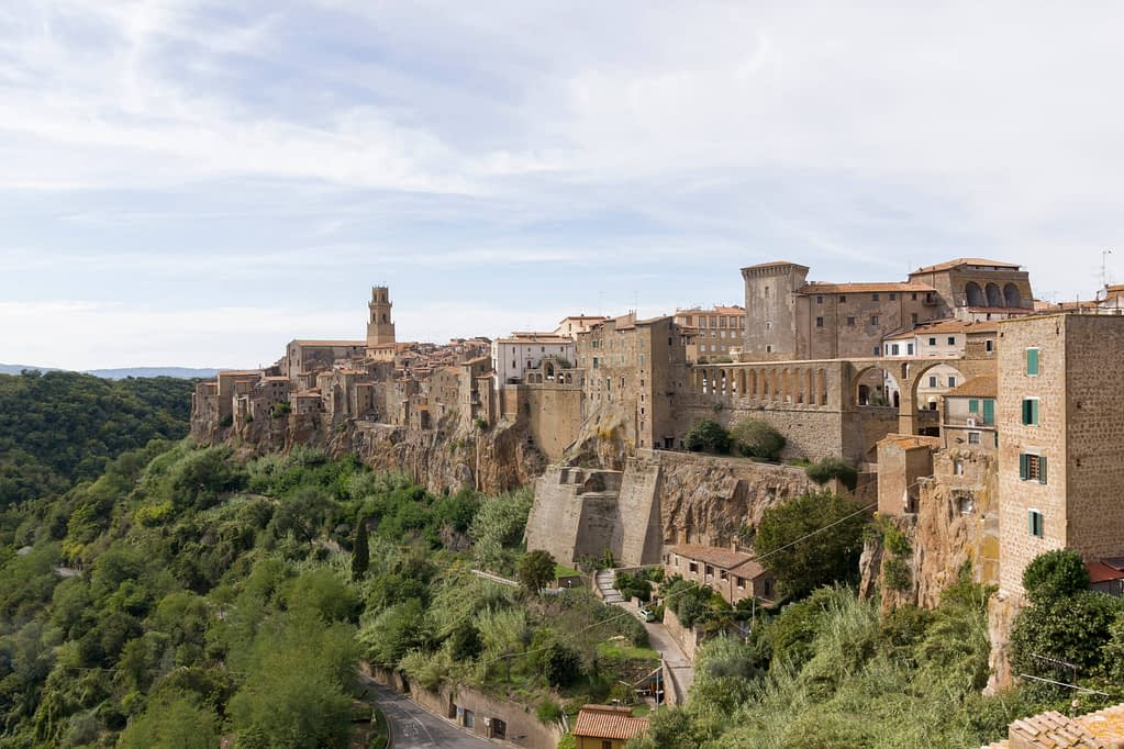 Authentiek Toscaans dorpje Pitligliano