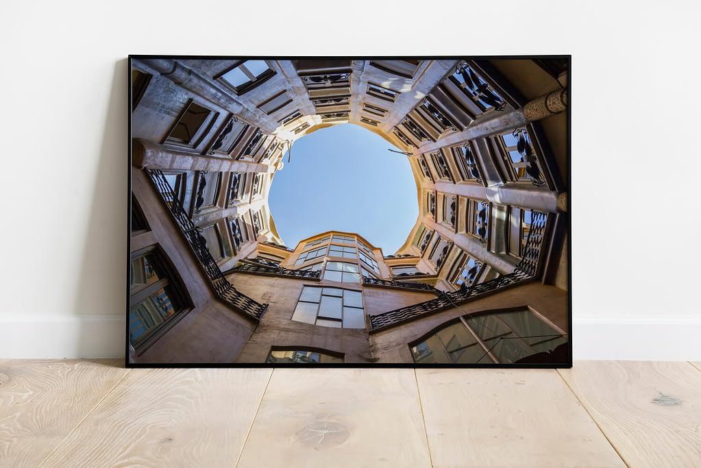 Barcelona Architectuur Poster - Urban Wanddecoratie