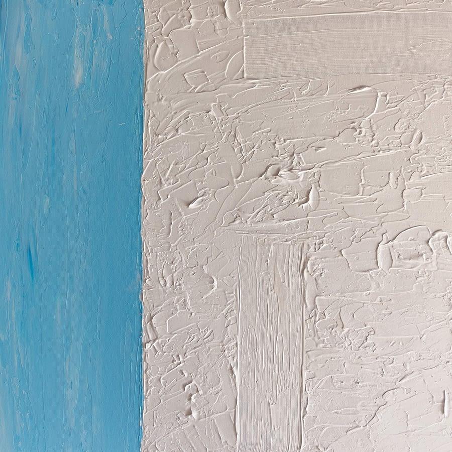 abstract schilderij detail
