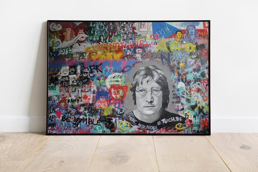 John Lennon Muur in Tsjechie - Urban Wanddecoratie