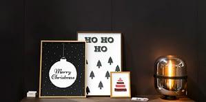 kerst posters en canvas prints