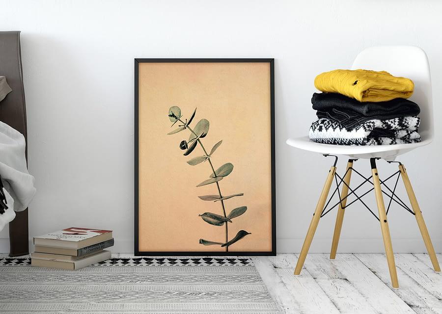 eucalyptus botanische wanddecoratie