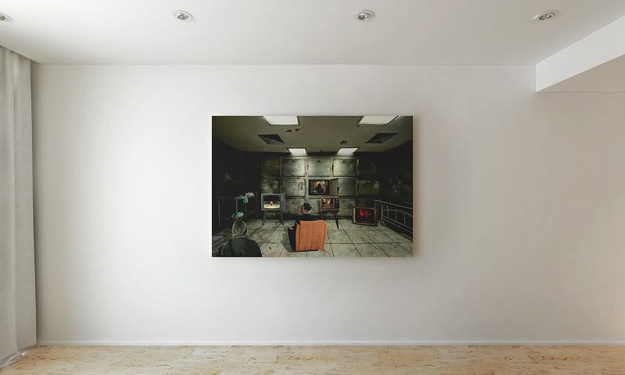 surrealistische prints MDRN HOME