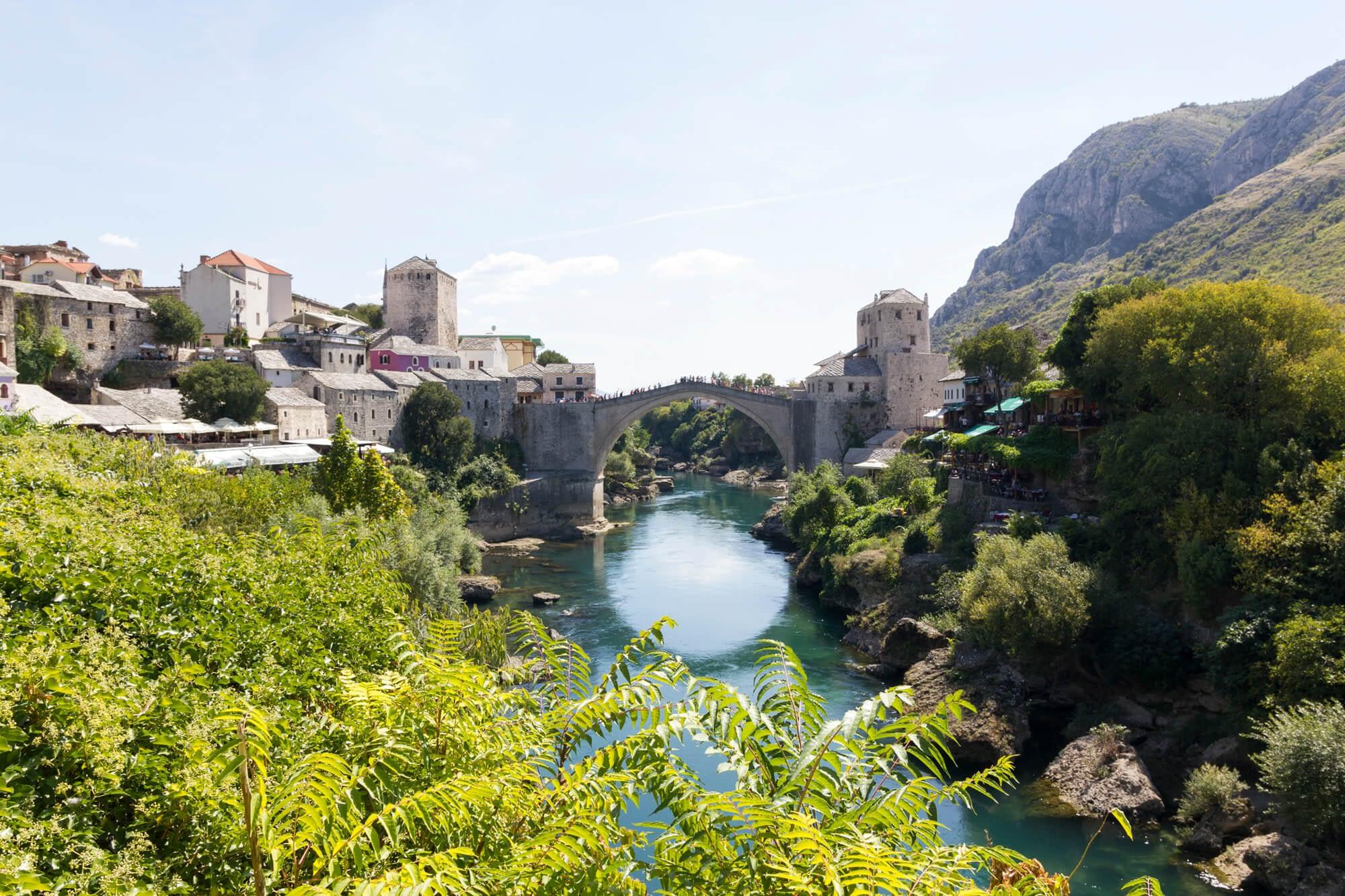 Afbeelding van Stari Most in Mostar