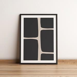 Beige Minimalism - Scandinavische poster en canvas print