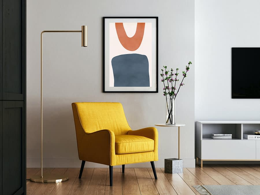 Shapes - abstracte wanddecoratie