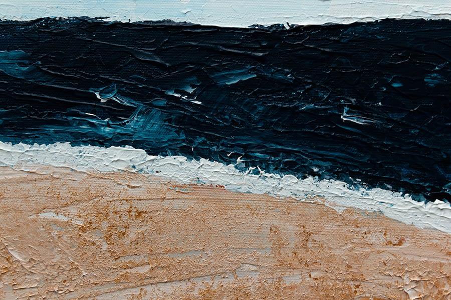 zee - abstract schilderij