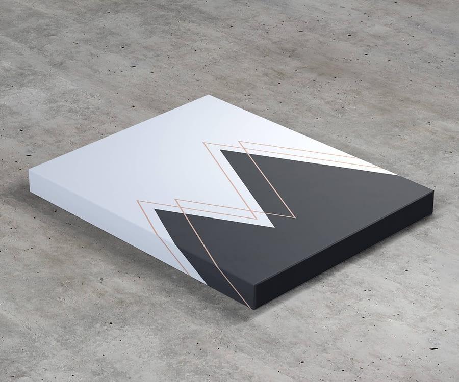 Abstract Mountains, Moderne Scandinavische Printable,