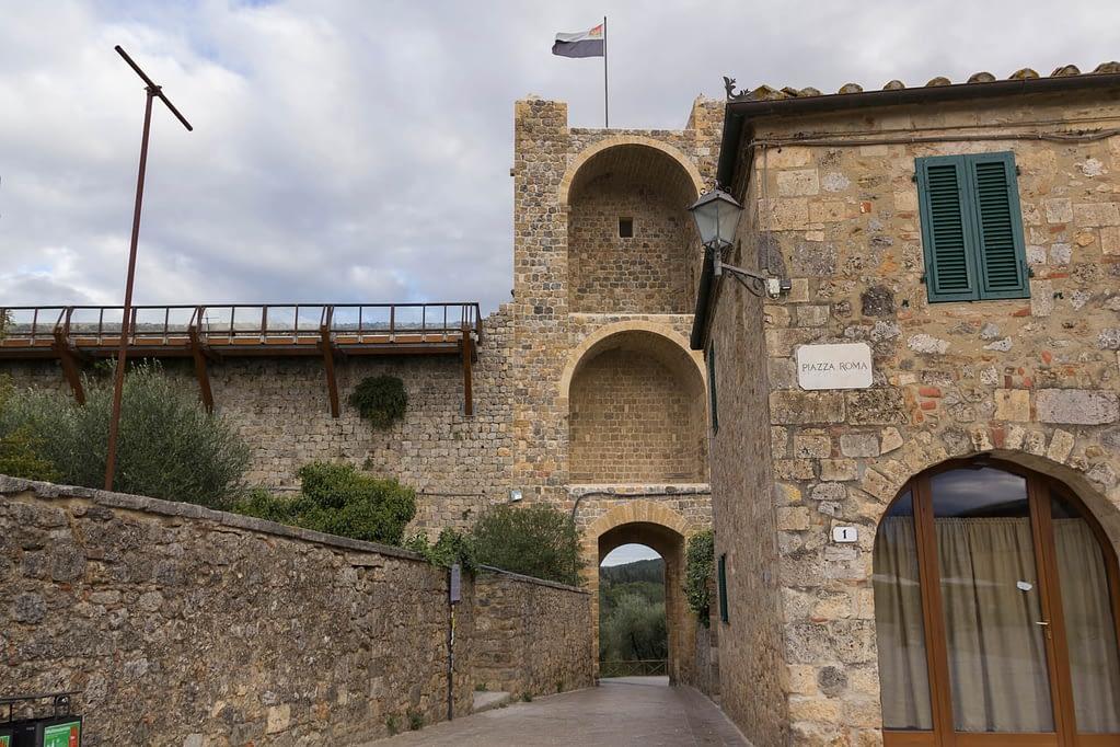 Op zoek naar het echte Toscane monteriggioni